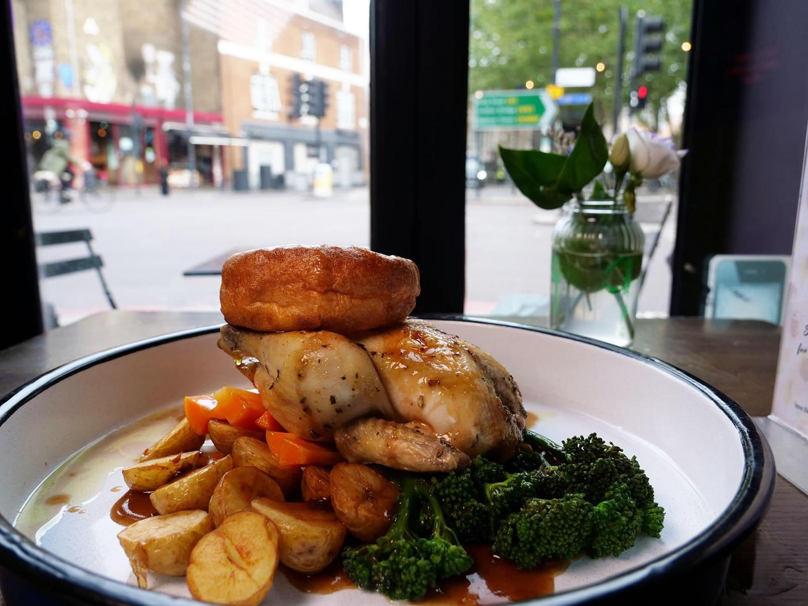 Sunday Roast at Shoreditch bar